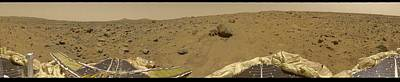 Open Impressionism California Desert - 360 Degree Panorama Mars Pathfinder Landing Site 2 by Celestial Images