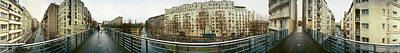 Photograph - 360 Panoramic Photograph Of Paris by Jeff Schomay
