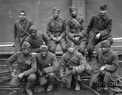 Photograph - 369th Infantry Regiment by Granger