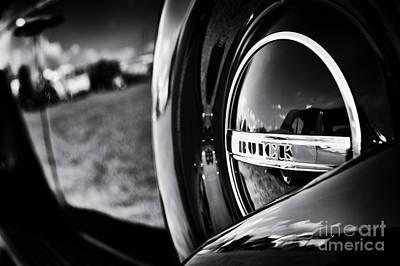 37 Buick 8 Monochrome Art Print by Tim Gainey