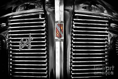Buick Grill Photograph - 37 Buick 8 Special by Tim Gainey