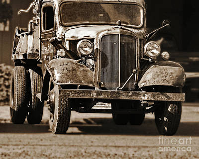 Photograph - '37 Chevy Truck by Ansel Price