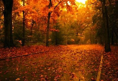 Nature Digital Art - Landscape Image by Victoria Landscapes