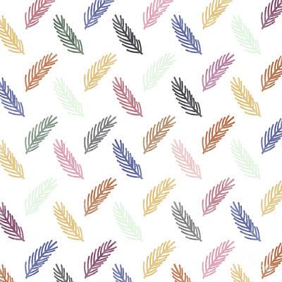 Pathway Digital Art - Lovely Pattern by Amir Faysal