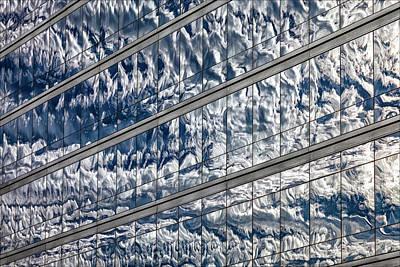 Photograph - Reflective Glass Architecture by Robert Ullmann