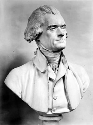 Statue Portrait Photograph - Thomas Jefferson (1743-1826) by Granger