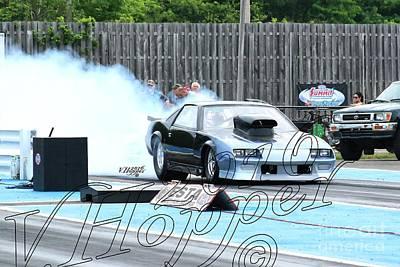 Wall Art - Photograph - 3718 05-29-16 Esta Safety Park Drag Racing by Vicki Hopper