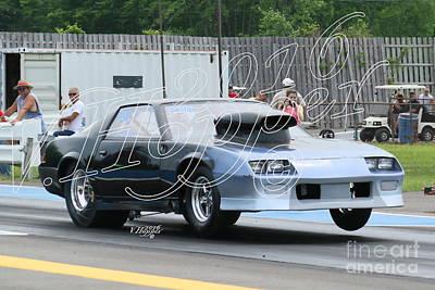 Wall Art - Photograph - 3725 05-29-16 Esta Safety Park Drag Racing by Vicki Hopper