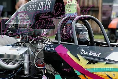 Wall Art - Photograph - 3729 05-29-16 Esta Safety Park Drag Racing by Vicki Hopper