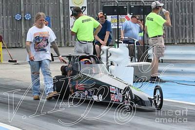 Wall Art - Photograph - 3737 05-29-16 Esta Safety Park Drag Racing by Vicki Hopper