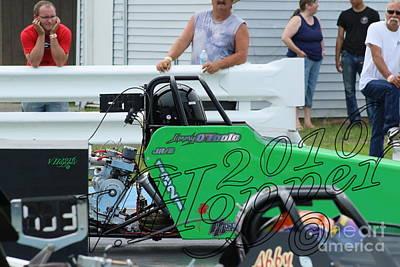 Wall Art - Photograph - 3742 05-29-16 Esta Safety Park Drag Racing by Vicki Hopper