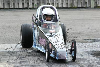 Wall Art - Photograph - 3743 05-29-16 Esta Safety Park Drag Racing by Vicki Hopper