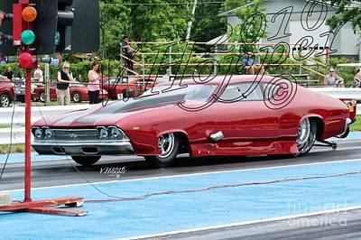 Wall Art - Photograph - 3761 05-29-16 Esta Safety Park Drag Racing by Vicki Hopper