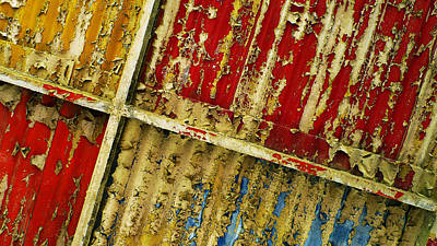 Paint Photograph - 377 At 41 Series 6 by Skip Hunt