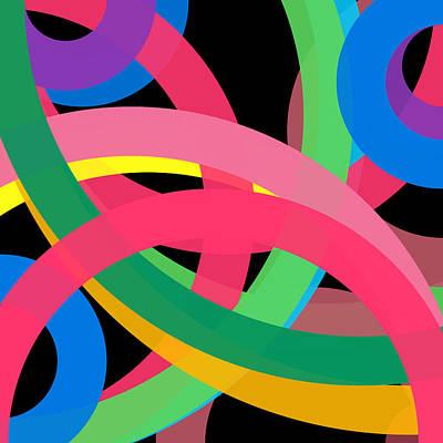 Drawing - 377 - Phi Word Circle by REVAD David Riley