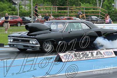 Wall Art - Photograph - 3776 05-29-16 Esta Safety Park Drag Racing by Vicki Hopper
