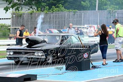 Wall Art - Photograph - 3787 05-29-16 Esta Safety Park Drag Racing by Vicki Hopper