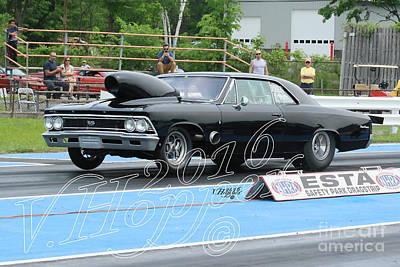 Wall Art - Photograph - 3798 05-29-16 Esta Safety Park Drag Racing by Vicki Hopper
