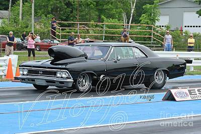 Wall Art - Photograph - 3799b 05-29-16 Esta Safety Park Drag Racing by Vicki Hopper