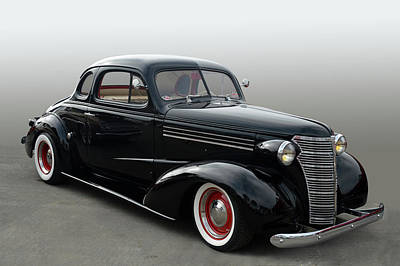 Photograph - 38 Chevy Coupe by Bill Dutting