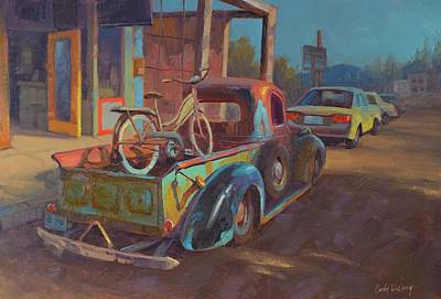 Truck Painting - 38' Ford In Jerome, Az by Cody DeLong