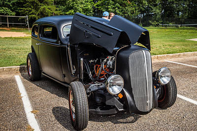 Photograph - Hall County Sheriffs Office Show And Shine Car Show by Michael Sussman
