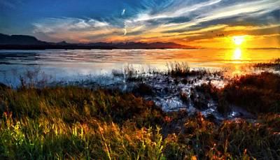 Landscapes Digital Art - Nature Scene by Victoria Landscapes