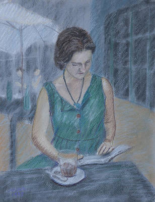 Portrait Art Print by Masami Iida