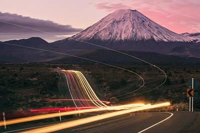 Transportation Digital Art - Road by Super Lovely