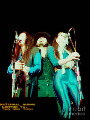 Photograph - 38 Special - Cow Palace San Francisco 3-15-80 by Daniel Larsen