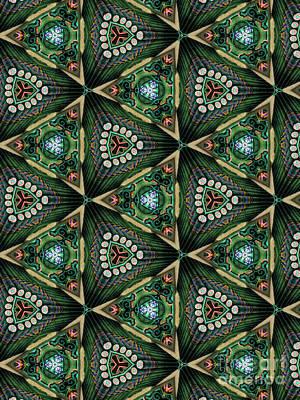 Kaleidoscope Digital Art - Unique Design Pattern by Amy Cicconi
