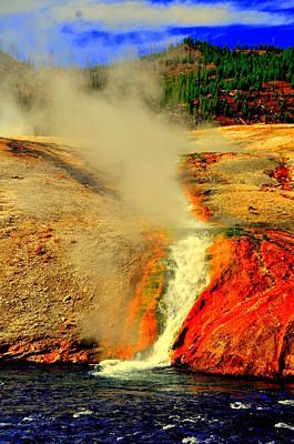 Yellowstone Park Art Print by Aron Chervin