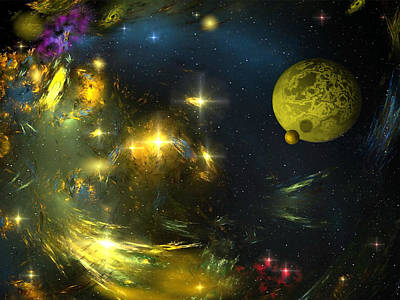 My Space Digital Art - 380 Grammes Of My Dreams. by Tautvydas Davainis