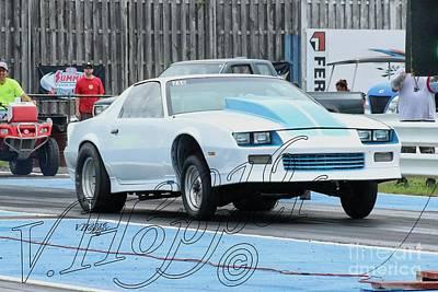 Wall Art - Photograph - 3808 05-29-16 Esta Safety Park Drag Racing by Vicki Hopper