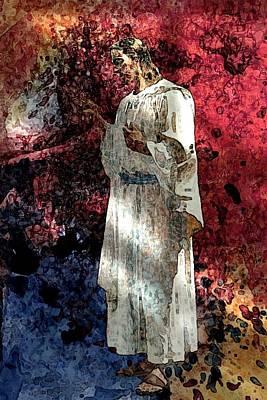 Symbol Digital Art - Jesus Christ - Religious Art by Elena Kosvincheva