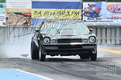 Wall Art - Photograph - 3817 05-29-16 Esta Safety Park Drag Racing by Vicki Hopper