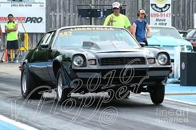 Wall Art - Photograph - 3819 05-29-16 Esta Safety Park Drag Racing by Vicki Hopper