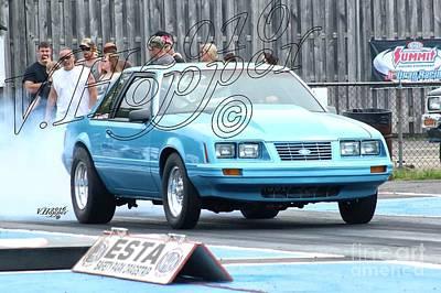 Wall Art - Photograph - 3821 05-29-16 Esta Safety Park Drag Racing by Vicki Hopper