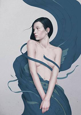 Drapery Painting - 386 by Diego Fernandez