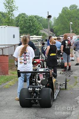 Wall Art - Photograph - 3882 05-29-16 Esta Safety Park Drag Racing by Vicki Hopper