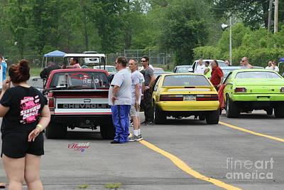 Wall Art - Photograph - 3884 05-29-16 Esta Safety Park Drag Racing by Vicki Hopper