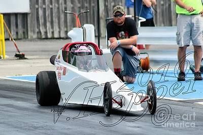 Wall Art - Photograph - 3896 05-29-16 Esta Safety Park Drag Racing by Vicki Hopper