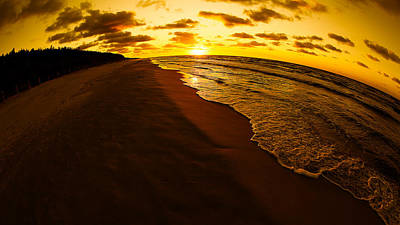 Sunset Digital Art - Beach by Super Lovely