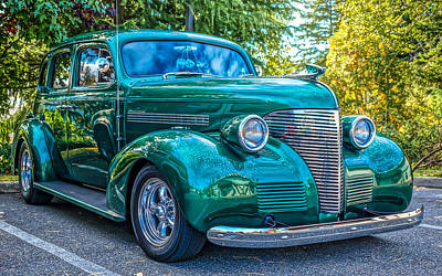 Photograph - '39 Chevrolet by Ronda Broatch
