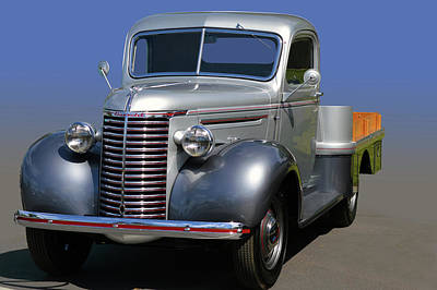 Photograph - 39 Chevy Flatbed by Bill Dutting