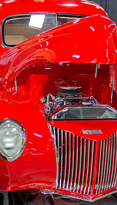 Barrett Jackson Wall Art - Photograph - 39 Ford Coupe by Wayne Vedvig