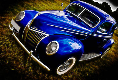 39 Ford V8 Coupe Art Print by Phil 'motography' Clark
