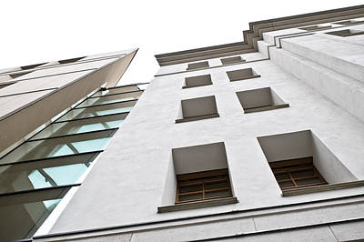 Sector Photograph - Modern Building by Tom Gowanlock