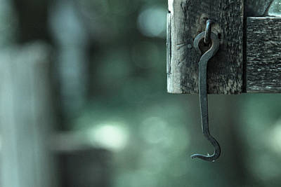 Photograph - Iron Hook by Vintage Pix
