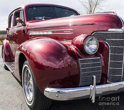Photograph - 39 Oldsmobile by Steven Parker